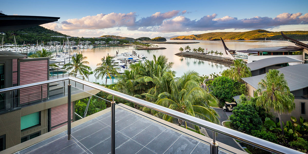 hamilton Island luxury beach villa holiday rental