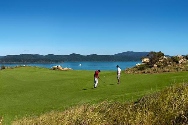 Hamilton Island villa mercedes family holiday golf